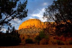Ghost Ranch Cliffs  Jeri Burzin
